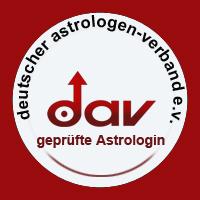 Sigel DAV-geprüfte Astrologin