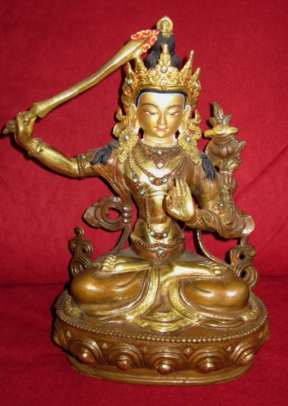 Tibetische Buddhafigur