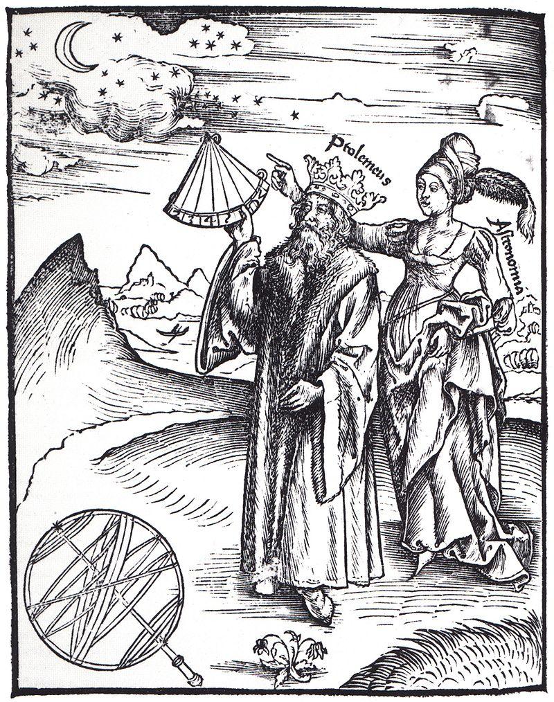 Ptolemäus in Gregor Reischs Margarita Philosophica